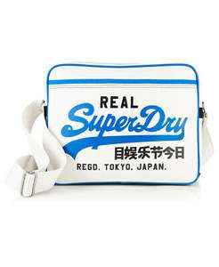 Superdry Mashed Up Alumni bag Now £16 with code Free delivery @ Superdry Outlet EBay