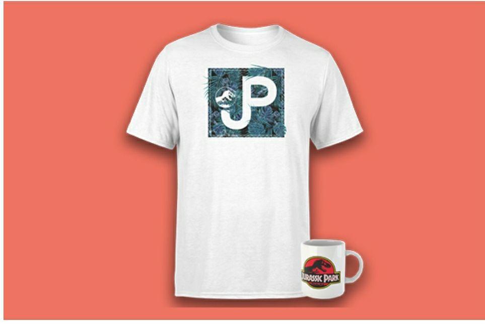 Jurassic Park T-shirt and mug - £8.99 + £1.99 Postage @ Zavvi
