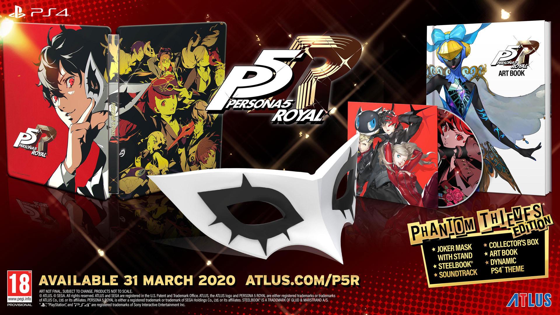 Persona 5 Phantom Thieves Edition (PS4) £68.11 @ Amazon France