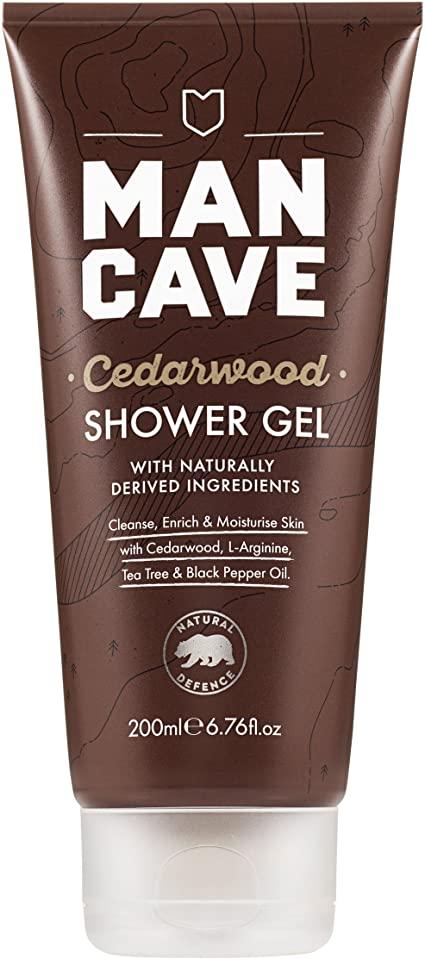 ManCave Cedarwood Shower Gel 200ml £2 @ Amazon (+£4.49 non-prime)