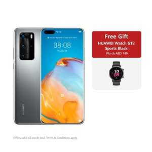 Huawei P40 Pro - 20gb plan and free GT2 watch £38 for 36 months - £1282 @ Sky Mobile