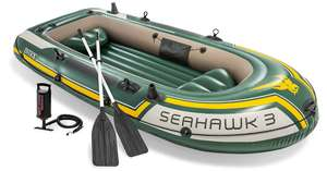 Intex Seahawk Inflatable Boat Set, 3-Person Boat Set with Oars + Inflator - £75.99 @ Amazon Dispatched from and sold by The Magic Toy Shop