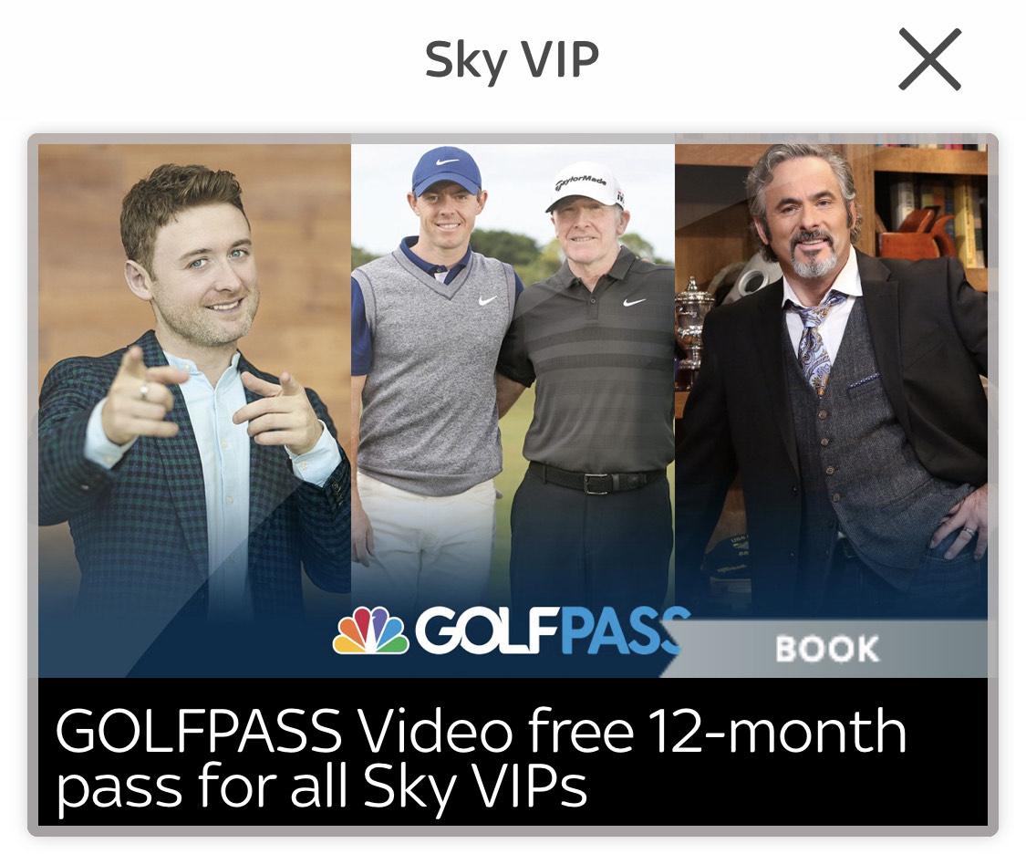 Free Golf Pass Video Member - Sky VIP