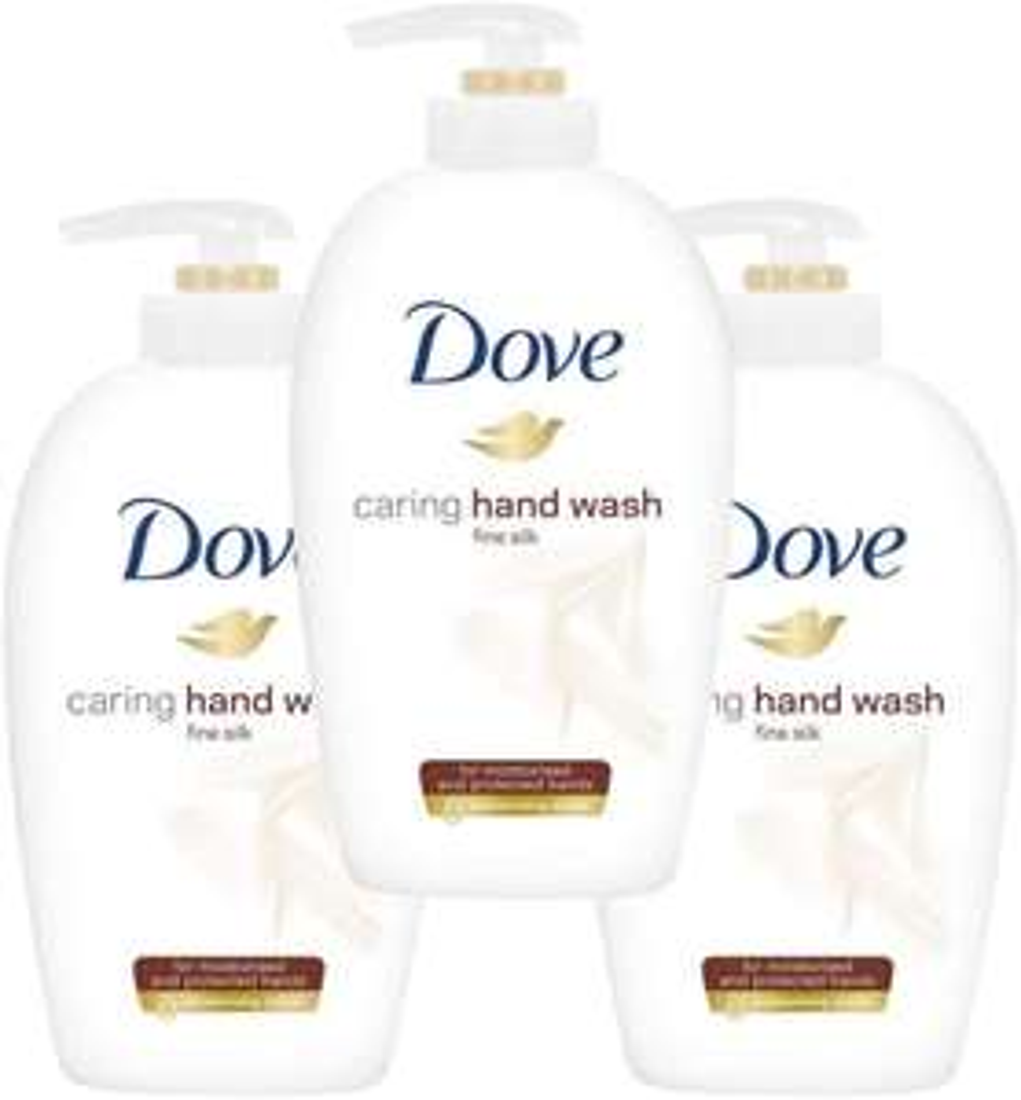 Dove Supreme Silk Beauty Cream Wash 250 ml - (Pack of 3) £3 (+ £4.49 Non-Prime) at Amazon