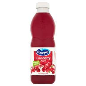 Ocean Spray Cranberry Original 1litre 99p at Waitrose & Partners