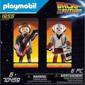 PLAYMOBIL 70459 Back to the Future Marty McFly and Dr. Emmett Brown - £6.99 @ Smyths (+£4.99 Postage / free for account holders)
