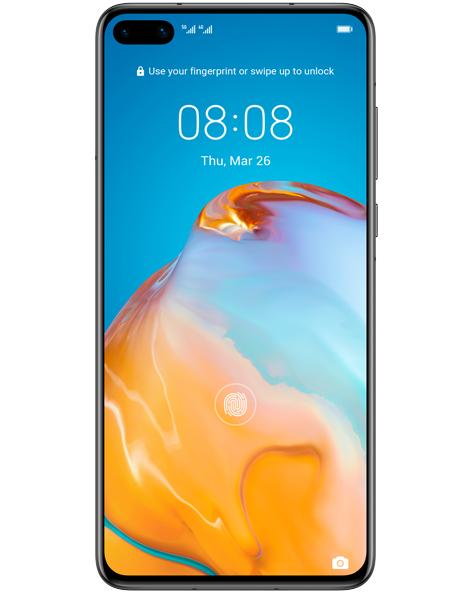 Huawei P40 5G + Huawei Watch GT Active 2 - 100GB data/ unlimited mins& texts 4G/5G £38x24 @ VirginMedia