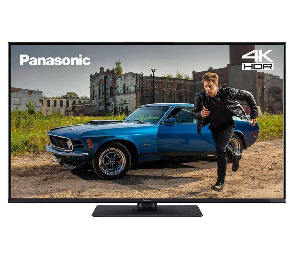 Panasonic TX-55GX551B 55 Inch SMART 4K Ultra HD HDR LED TV Freeview Play- Refurbished