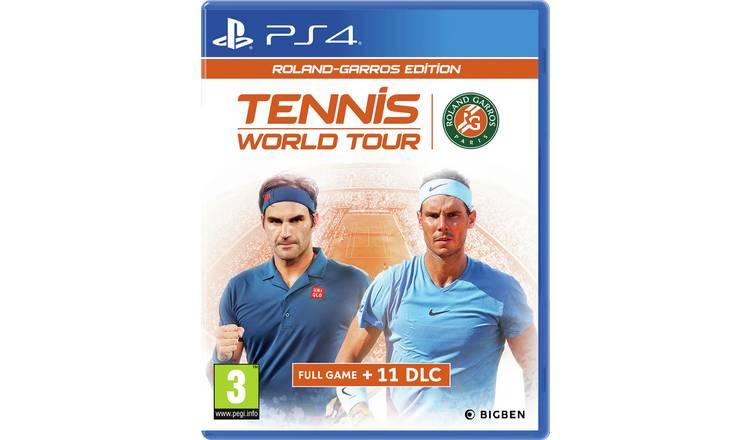 Tennis World Tour - Roland Garros Edition PS4/Xbox £14.99 + £3.95 del @ Argos