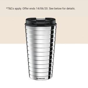Free Nespresso Coffee Mug when ordering 100 nespresso capsules - from £22.45
