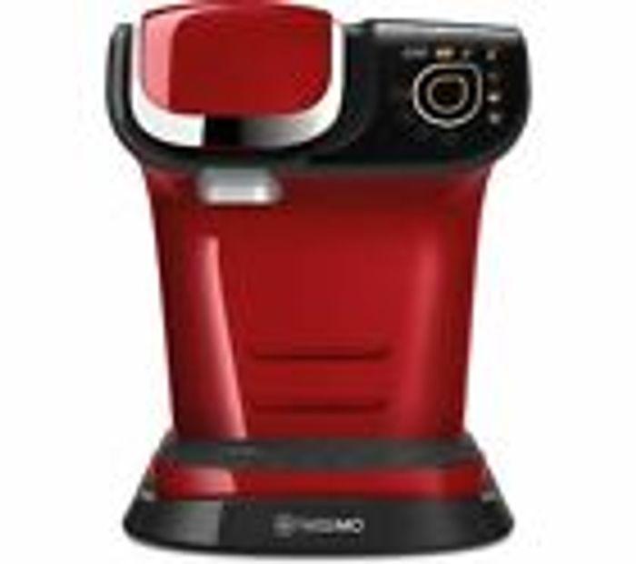 TASSIMO by Bosch My Way TAS6004GB Coffee Machine Red , White or Black Free Del £79.99 @ Currys eBay