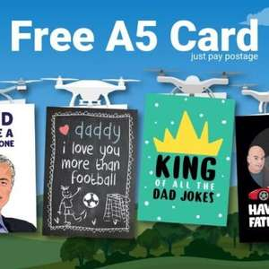 Free A5 Father's Day card from Thortful (Just pay postage 76p) @ Vodafone VeryMe Rewards