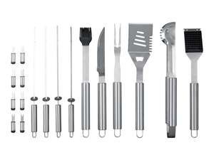 18-Piece Barbecue Utensil Set £19.99 at Lidl