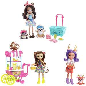 Enchantimals Picnic in the park doll 3-pack & Playset £16.45 delivered at Argos (selected postcodes)