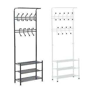 HOMCOM Metal white coat / hat / shoe rack for £26.39 delivered using code @ eBay / 2011homcom