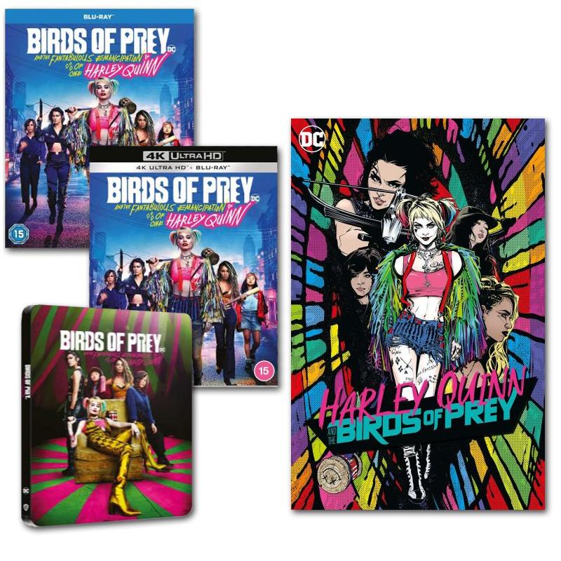 Pre Order - Birds Of Prey + Free Comic - Blu-Ray £14.99 / 4K £24.99 / 4K Steelbook + BR Copy £29.99 - New Accounts Get 10% Off @ Warner Bros
