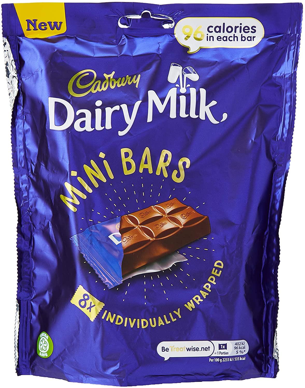 Cadbury's mini chocolate bars - £2 (Prime) £6.49 (Non Prime) @ Amazon