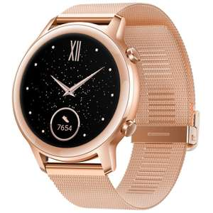 HONOR MagicWatch 2 42mm AMOLED Sakura Gold with free bluetooth earphones and extra strap for £139.99 delivered @ HONOR
