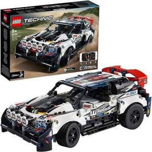 Lego 42109 App-Controlled Top Gear Rally Car - £85.50 (+ 6.6% Quidco or 9.9% Top cash back ) Delivered @ Hamleys