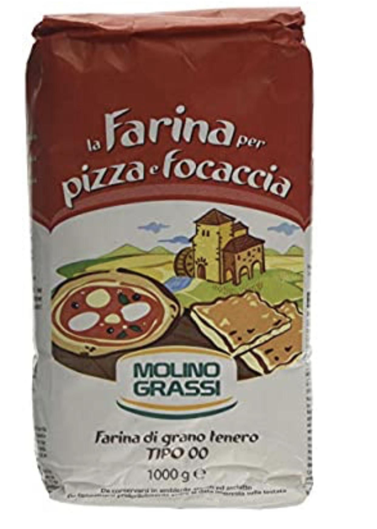 Molino Grassi Italian Flour for Pizzas and Focaccia, 1 kg, Pack of 10 at Amazon £12.15 @ Amazon (+£4.49 non-prime)