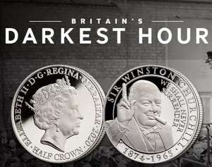 "Imperial War Museums ""We Shall Never Surrender"" Coin Free via London mint office - Just pay £2.50 postage"