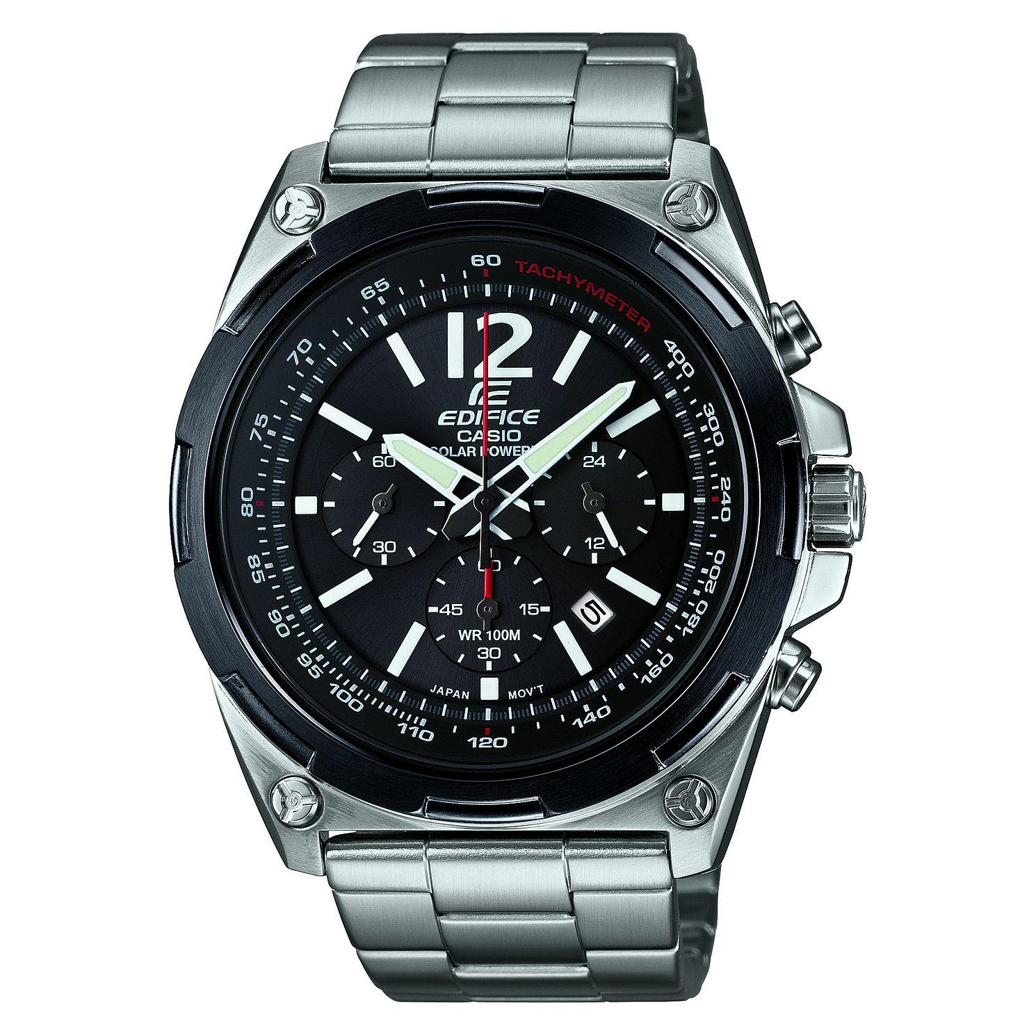 Mens Casio Edifice Chronograph Solar Powered Watch £106.25 at H.Samuel