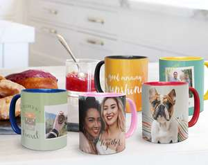 Personalised Magic Photo Mug (£5) from Snapfish - Other Mugs from £3 (+£2.99 Delivery)