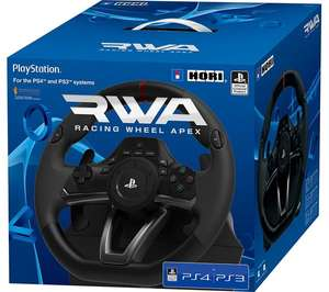 HORI Apex Racing Wheel & Pedals (PS4/PS3/PC) £73.39 Delivered @ Base