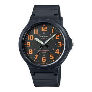 Casio Mens Analogue Watch with Resin Strap - Black, £12.99 at MyMemory