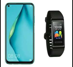 Huawei P40 Lite 128GB Smartphone Black + Free Huawei Band 4 Pro Fitness Tracker (Via Redemption) - £249.95 @ John Lewis & Partners