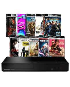 Panasonic UB150 4K Ultra HD Blu-ray Player with 10 4K UHDs for £184.99 delivered @ Zoom.co.uk