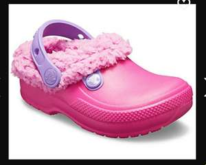 Kids' Classic Blitzen III Lined Clog With Free shipping + (possibly 20% when sign up for their newsletter) £15 @ Crocs