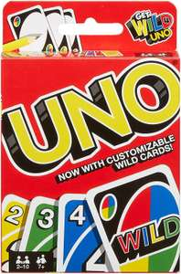 Uno card game - £3.50 (+£4.49 Non-Prime) @ Amazon
