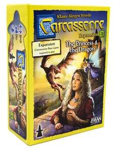 Carcassonne EXPANSION Princess and the Dragon - £15.98 Delivered @ Zatu Games
