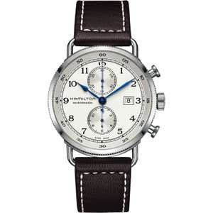 Hamilton Khaki Navy Pioneer Automatic Chronograph Watch H77706553 £1,140.75 with code @ Watch Shop