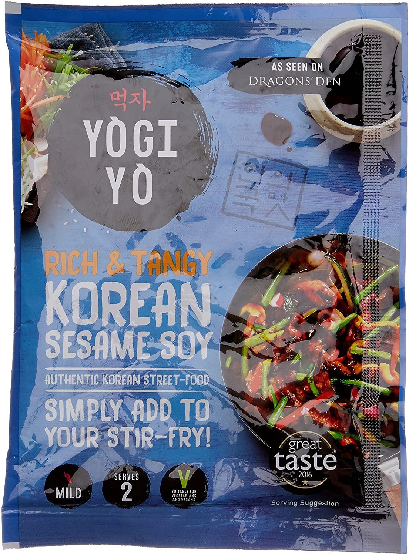 Yogiyo Mild Korean Sesame Soy Stir-Fry Sauce 100g 70p (67p with S&S / + £4.49 NP) at Amazon