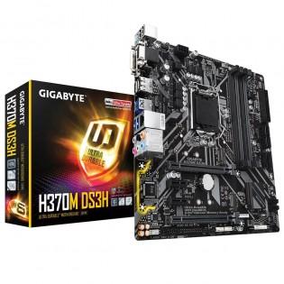 Gigabyte H370M DS3H Micro ATX LGA1151 Motherboard £62.35 Tech Next Day
