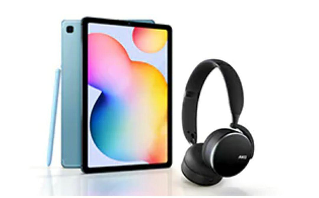Samsung Galaxy Tab S6 Lite (64GB, Wi-Fi) Tablet + Claim Free AKG Y500 Headphones - £296.65 Delivered Via Employee Portal @ Samsung Store