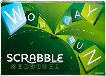 Scrabble Original Y9592 Board Game £10 (+£4.49 Non Prime) @ Amazon