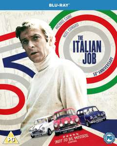 [Blu-Ray] The Italian Job (50th Anniversary Edition) - £4.99 delivered @ Zoom