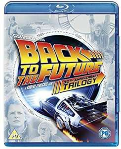 Back To The Future Trilogy 30th Anniversary Edition (Blu-ray Boxset) £7.99 delivered @ Zoom