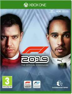 Xbox F1 2019 Disc £17.95 delivered @ The Game Collection