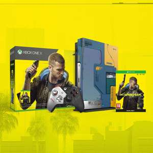 Xbox One X 1TB Limited Edition CyberPunk 2077 Console Bundle £263.94 Delivered @ Argos (selected postcodes)