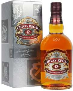 Chivas Regal 12 Year Old Blended Scotch Whisky, 70cl £20 @ Amazon