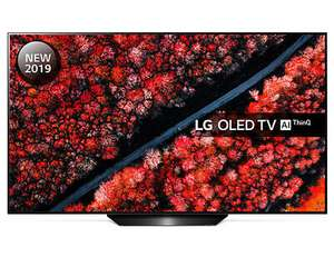 LG OLED55B9PLA 55 inch OLED 4K Ultra HD HDR Smart TV Freeview Play Freesat HD Free 5 Year Guarantee £998 @ cramptonandmoore / eBay