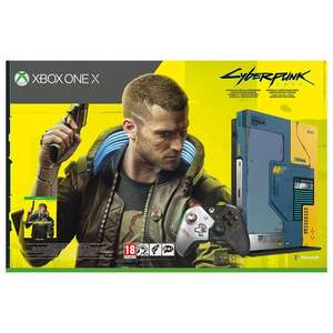 Xbox One X 1TB Console – Cyberpunk 2077 Limited Edition Bundle £259.99 Delivered @ Smyths