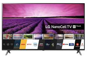 LG 55SM8050PLC (2020) LED HDR NanoCell 4K Ultra HD Smart TV, 55 inch | Freeview /Freesat HD, Ceramic - £579 @ Richersounds + 6 year warranty