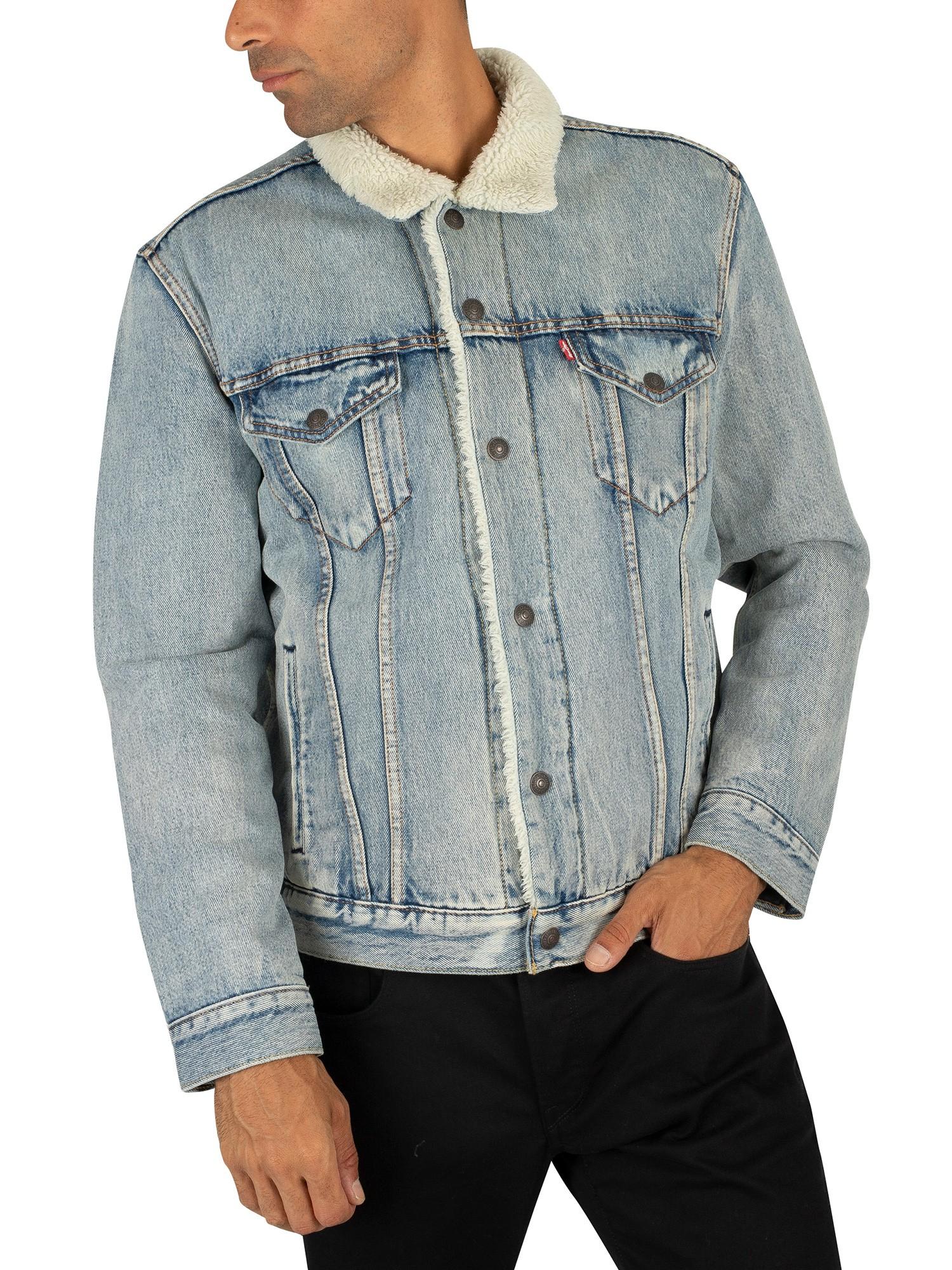 Levi's Sherpa Trucker Jacket £57.95 @ Stonebridge