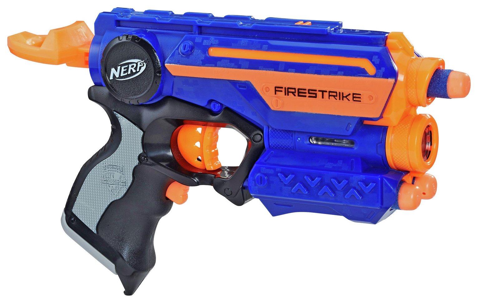 Nerf N-Strike Firestrike Blaster £5 + £3.95 del @ Argos