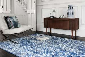 25% off Nova rug collection (including Nova Grey Yellow Rug for £51.74 delivered) @ The Rugs Warehouse